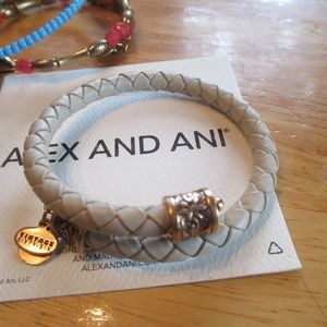 Alex and Ani Vintage 66 Road To Romance Braided